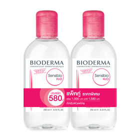 แพ็คคู่ Bioderma Sensibio H2O (250mlx2)