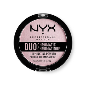 NYX Professional Makeup Duo Chromatic Illuminating Powder #DCIP02 Lavender Steel