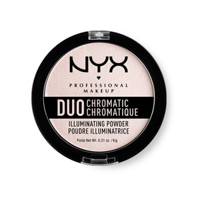 NYX Professional Makeup Duo Chromatic Illuminating Powder # DCIP04 Snow Rose