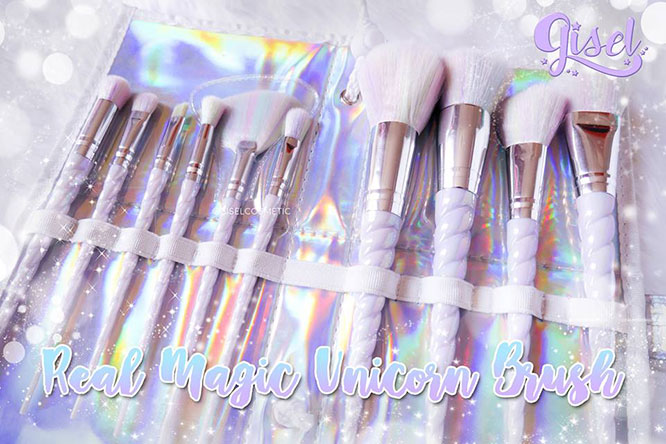 Gisel Real Magic Unicorn Brush Set 10pcs_2