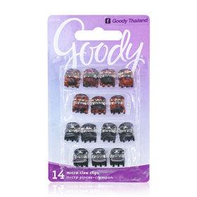 Goody Women's Classics Micro Mini Claw Clip (14pcs)