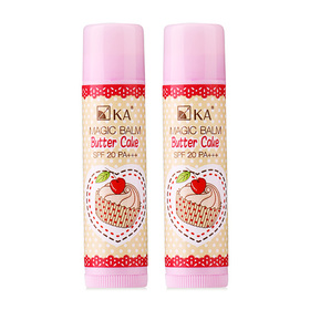 แพ็คคู่ KA Magic Balm Butter Cake SPF20/PA+++ #Vanilla Butter (5g x 2)