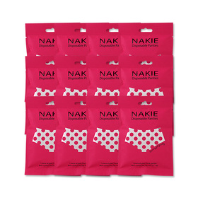 NAKIE Disposable Panties Set 12 pcs