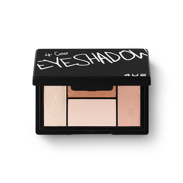 4U2 4 Color Eyeshadow 4.5g #01 Serene
