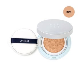 A'pieu Air Fit Cushion SPF50+/PA+++ 13.5g #21 Free! Refill