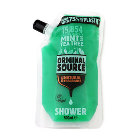 Original Source Shower Gel Pouch 500ml #Mint&Tea Tree