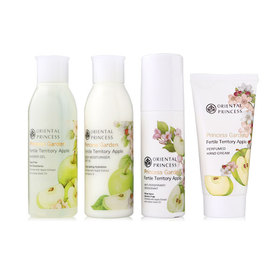 Oriental Princess Fertile Territory Apple Travel Set 4 Items ( Shower Gel 100ml + Body Moisturiser SPF 10 100ml + Anti- Perspira