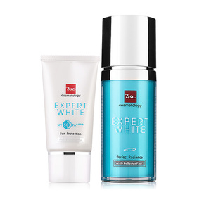 Bsc Expert White Perfect Radiance 30ml Free! Bsc Expert White Sun Protection SPF50/PA++++ 20ml