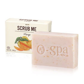O-Spa Scrub Me Soap 125g #Mango