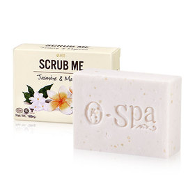 O-Spa Scrub Me Soap 125g #Jasmine & Magnolia