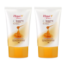 แพ็คคู่ Honei V Bsc Cleansing Cream Plus Mulberry (70g x 2)