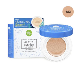 Cathy Doll White Plankton Matte Cushion SPF50/PA+++ 15g #Natural Bright