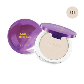 Cathy Doll Magic Dolly Face Two Way Cake Powder SPF30/PA+++ 12g #Light Beige