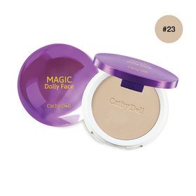 Cathy Doll Magic Dolly Face Two Way Cake Powder SPF30/PA+++ 12g #Natural Beige