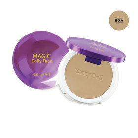 Cathy Doll Magic Dolly Face Two Way Cake Powder SPF30/PA+++ 12g #Sand Beige