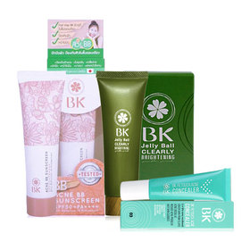 BK Set 3 Items #03 (Concealer #03 9g + BB Sunscreen 30g + Brightening Gentle Scrub 40g)