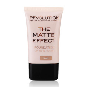 Makeup Revolution The Matte Effect Foundation Up To 16 Hours 25ml #Sand