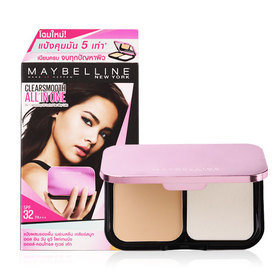Maybelline Clear Smooth All In One SPF32/PA++  #02 Nude Beige  9g