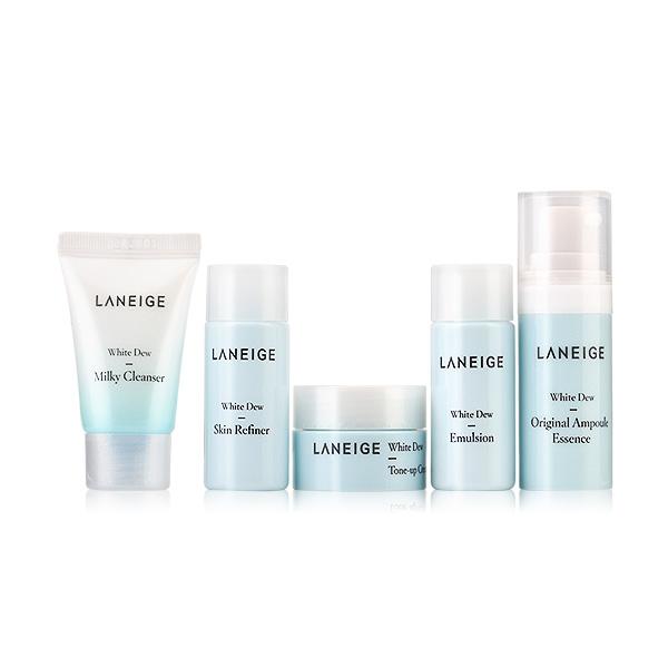 Laneige+White+Dew+Trial+Kit+%285+Items%29