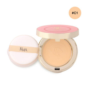KMA Luminous Pearl Cake Powder #C1 Light Beige