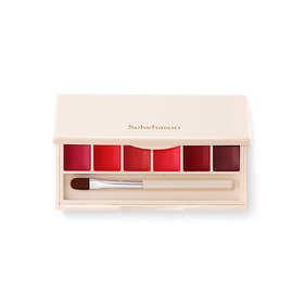 Sulwhasoo Essential Lip Serum Stick Palette (6 Colors) (No.3 Flower Pink, No.4 Rose Red, No.5 Blossom Coral, No.6 Sweet Pink, No
