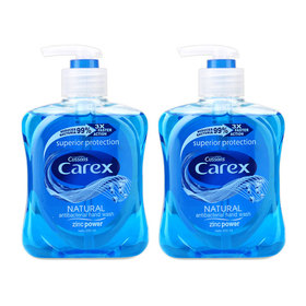 แพ็คคู่ Carex Hand Wash #Zinc Power (250mlx2)