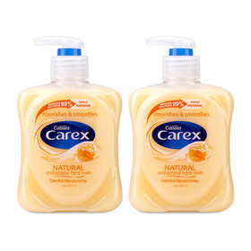 แพ็คคู่ Carex Hand Wash #Oatmilk&Manuka Honey (250mlx2)