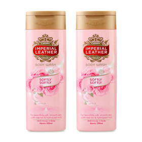แพ็คคู่ Imperial Leather Body Wash #Softy Softy (200mlx2)