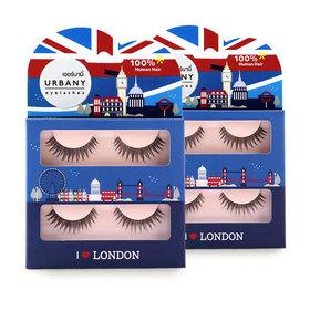 แพ็คคู่ Urbany Eyelashes I Love London (2pairs x2)