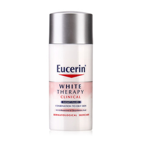 Eucerin White Therapy Clinical Night Fluid Combination To Oily Skin 30ml (No Box)