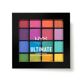 NYX Professional Makeup Ultimate Shadow Palette # USP04 - BRIGHTS