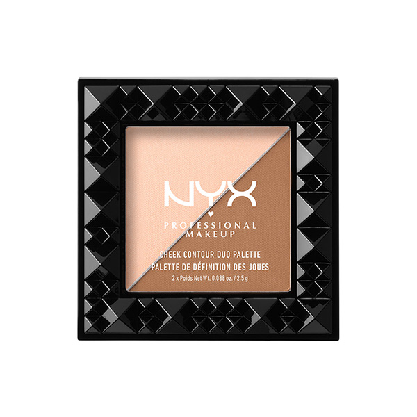 NYX Professional Makeup Cheek Contour Duo Palette #CHCD01 Cheek On Cheek