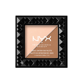 NYX Professional Makeup Cheek Contour Duo Palette #CHCD01 Cheek On Cheek
