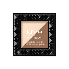 NYX Professional Makeup Cheek Contour Duo Palette #CHCD02 Double Date