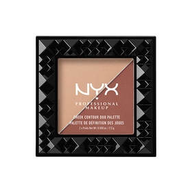 NYX Professional Makeup Cheek Contour Duo Palette #CHCD06 Ginger & Pepper