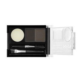 NYX Professional Makeup Eyebrow Cake Powder #ECP01  Black/ Grey