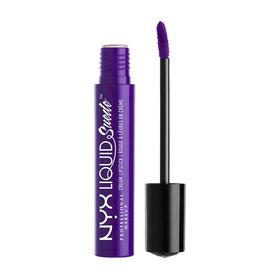 NYX Professional Makeup Liquid Suede Cream Lipstick #LSCL10 Amethyst