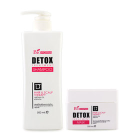 Biowoman Detox Treatment Set 2 Items (Shampoo 500ml + Mask 250ml)