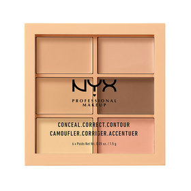 NYX Professional Makeup Concealer Palette #3CP01 Light