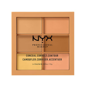 NYX Professional Makeup Concealer Palette #3CP02 Medium
