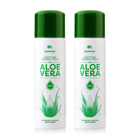 แพ็คคู่ Freshment Soothing Mineral Spray With Aloe Vera (50ml x 2)