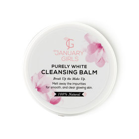 January Girls Natural Purely White Cleansing Balm 85g
