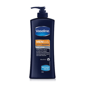 Vaseline Men Whitening and Cooling Lotion 400ml