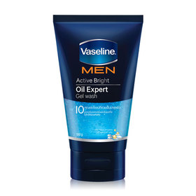 Vaseline Men Active Bright Oil Expert Gel Wash 100g