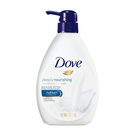 Dove Deeply Nourishing Nourishing Body Wash 550ml