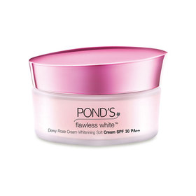 Ponds Flawless White dewy Rose Cream SPF30+++ 50g