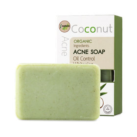 i nature Coconut Acne Soap Oil Control Whitening 120g