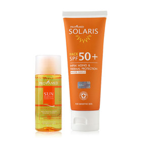 Provamed Solaris Face SPF50+ 50ml (Free! Sun Perfect Cleansing Water 50ml)