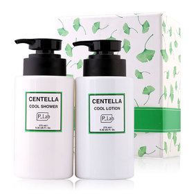 P Lab Centella Cool Set 2 Items (Shower 275ml + Lotion 275ml)