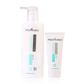 Provamed Sensitive Cleanser 200ml (Free! Sensitve Cleanser 20ml)